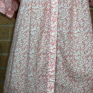 Ann Taylor Tops - Ann Taylor Loft Peasant Top Floral Small boho